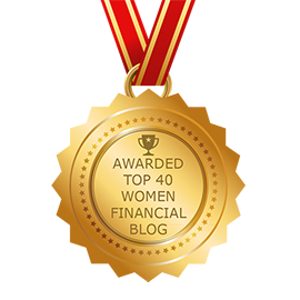 Award for the top 40 women financial blog